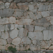 Ancient rock exterior wall for temples and such, taken at Delphi in Greece 2010.